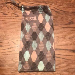 Fossil sunglasses case